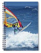Wave Jumpimg Spiral Notebook
