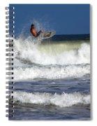 Wave Rider Spiral Notebook