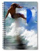 Wave Rider Spiral Notebook
