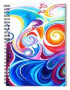 Wave Set Spiral Notebook