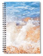 Wave Up Close Spiral Notebook