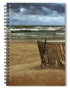 Waves And Clouds  Spiral Notebook