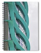 Waves At The Waverly Spiral Notebook