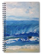 Waves At West Cape May Nj Spiral Notebook