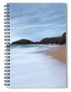 Waves Breaking At Murder Hole  County Spiral Notebook