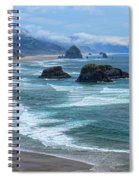 Waves Coming Ashore Spiral Notebook