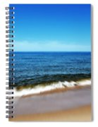 Waves In Motion Spiral Notebook