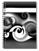 Waves Spiral Notebook
