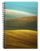 Waves Of Colours Spiral Notebook
