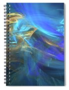 Waves Of Grace Spiral Notebook