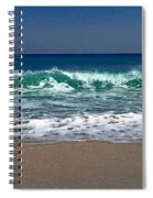 Waves Of Happiness  Spiral Notebook