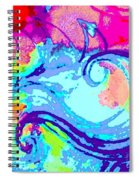 Waves Of His Love Spiral Notebook