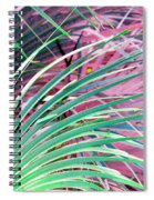 Waves Of Palm Spiral Notebook