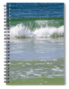 Waves Of The Gulf Of Mexico Spiral Notebook