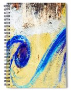 Waves On A Wall Spiral Notebook