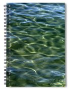 Waves On Lake Tahoe Spiral Notebook