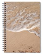 Waves On The Beach Spiral Notebook