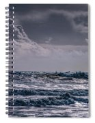Waves, Reynisfjara, South Coast, Iceland Spiral Notebook