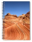 Waves Under Buttes Spiral Notebook