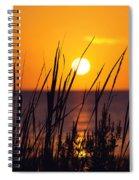 Waving Goodby Spiral Notebook
