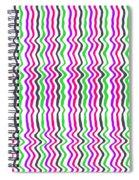 Wavy Stripe Spiral Notebook