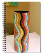 Wavy Vase Spiral Notebook