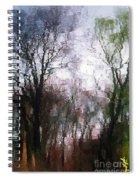 Wavy Willows Spiral Notebook