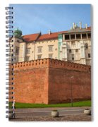 Wawel Royal Castle In Krakow Spiral Notebook