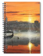 Wawel Sunrise Krakow Spiral Notebook