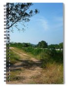 Way To The Beach Spiral Notebook