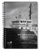 Way Up Front Spiral Notebook