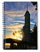 wayfarers Chapel 10 Spiral Notebook