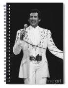 Wayne Newton Spiral Notebook