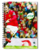 Wayne Rooney Spiral Notebook