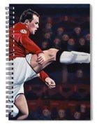 Wayne Rooney Spiral Notebook