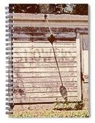 Wayside Shower Spiral Notebook