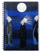 We All See The Same Moon Spiral Notebook