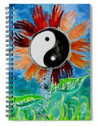 We Are All One Race Human Spiral Notebook