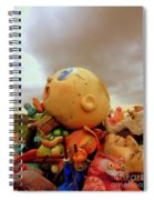 We Are Here Spiral Notebook