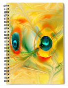 We Come In Peace Spiral Notebook