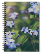 We Lay With The Flowers Spiral Notebook