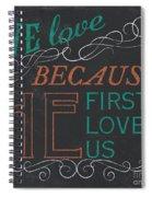 We Love.... Spiral Notebook