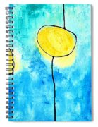 We Make A Family - Abstract Art By Sharon Cummings Spiral Notebook