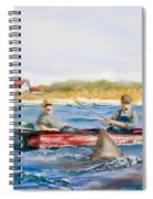 We Need A Biggah Boat Spiral Notebook