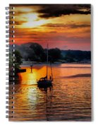 We Sail At Sunrise Spiral Notebook
