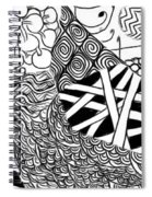 We Sailed The Seas Together Spiral Notebook