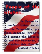 We The People Spiral Notebook