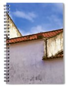Weathered Barn Of Medieval Europe Spiral Notebook