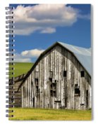 Weathered Barn Palouse Spiral Notebook