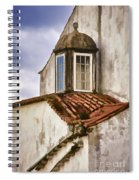 Weathered Building Of Medieval Europe Spiral Notebook